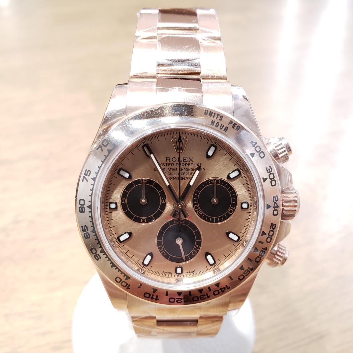 brand new c9160 3272f ロレックス デイトナ エバーローズゴールド ピンク×黒 116505 新品未使用
